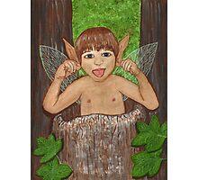 Finwe - Fairy - Elf Boy Art Photographic Print
