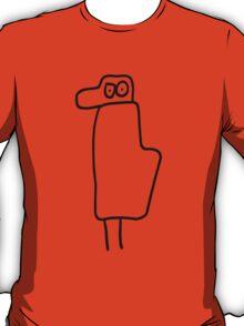 Uncle bird (outline black) T-Shirt