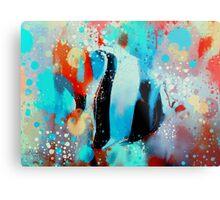 underwater rainbow Metal Print