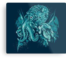 A God Beyond the Sea Metal Print
