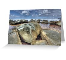 Honeycomb by the sea Greeting Card