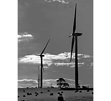 Still wind mill Photographic Print