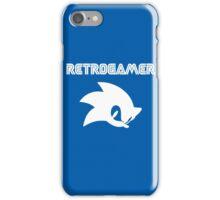 Retro gamer Sonic Shirt iPhone Case/Skin