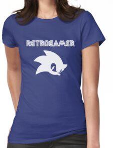Retro gamer Sonic Shirt Womens Fitted T-Shirt
