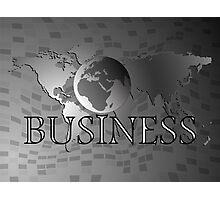 Business world Photographic Print