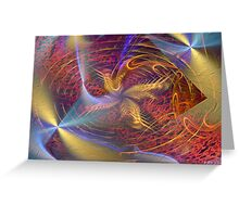 Protectors Of The Mother Fractal Greeting Card