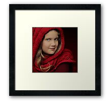 Who's afraid of the Big Bad Wolf? Framed Print