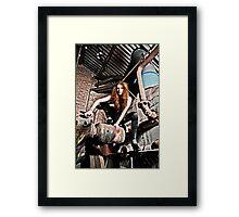 Spider Woman Framed Print
