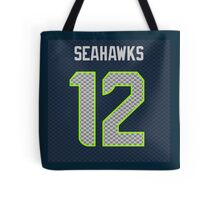 SEAHAWKS - SUPER FAN 12 Tote Bag
