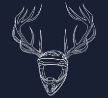 Mx Stag Head Baby Tee