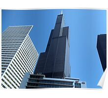 Willis Tower In Glory Poster