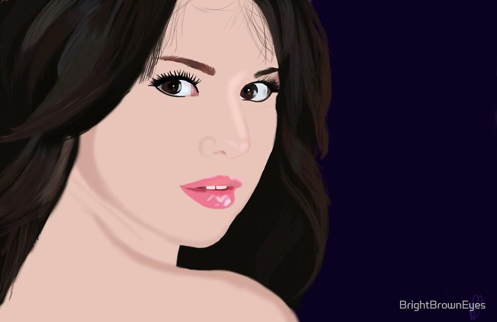 Selena by BrightBrownEyes