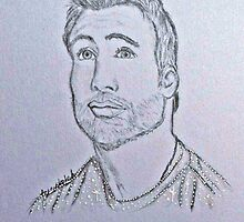 Chris Evans by jessierobin