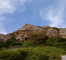 Hastings Cliff Face by katiebm