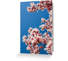 Welcome the Magnolia (Portrait) Greeting Card