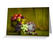 Fruits .  Greeting Card