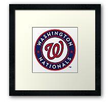 washington national Framed Print