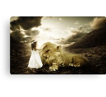 Wake up Kitty! Canvas Print