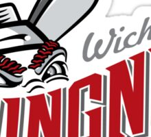 wichita wingnuts Sticker