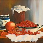 REDCURRANT JAM by Beatrice Cloake Pasquier