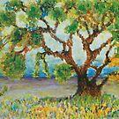 Meadow tree by George Hunter