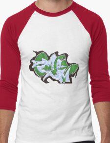 DEMAR One oFF the WALL Men's Baseball ¾ T-Shirt