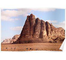 Wadi Rum desert Poster
