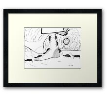 cockroaches Framed Print
