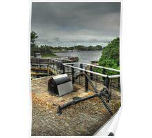Glasson Marina Lock Poster
