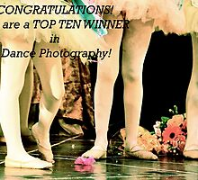 Dance Photography Top Ten Banner by Valerie Rosen