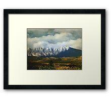 Smoky Clouds on a Thursday Framed Print