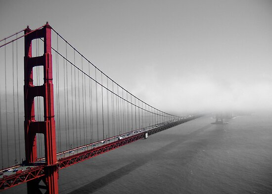 Golden Gate new to old by Thomas Stroehle