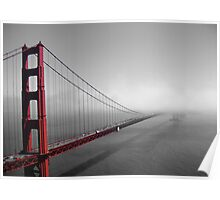 Golden Gate new to old Poster