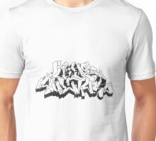 Hip Hop is a Culture oFF the WALL Unisex T-Shirt