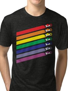 Race The Rainbow Tri-blend T-Shirt