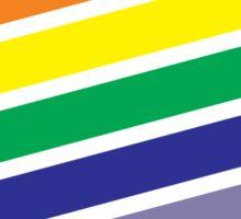 Race The Rainbow Sticker