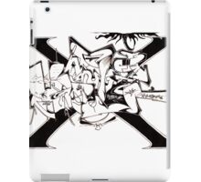 Hanfi Style X off the WALL iPad Case/Skin