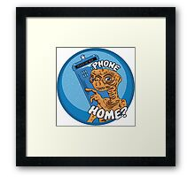 Phone Home? Framed Print