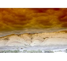Death Valley Storm Photographic Print