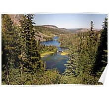 Upper Twin Lakes Poster