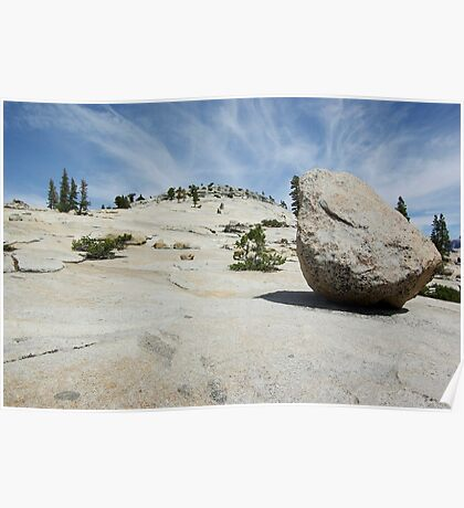 Lunar Rock Poster