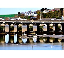 Bideford  Bridge River Torridge Photographic Print