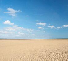St Andrews Beach, Scotland by Julie McBrien