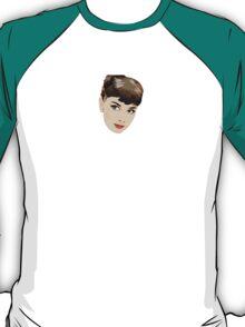 Audrey Hepburn Vector T-Shirt