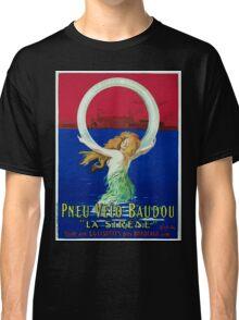 Leonetto Cappiello Affiche Pneu Baudou Classic T-Shirt