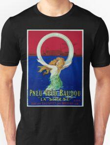 Leonetto Cappiello Affiche Pneu Baudou T-Shirt
