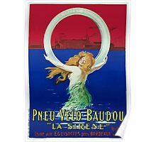 Leonetto Cappiello Affiche Pneu Baudou Poster