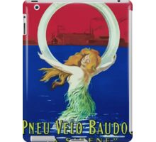 Leonetto Cappiello Affiche Pneu Baudou iPad Case/Skin