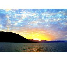 Australian Sunset Photographic Print