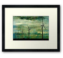 The Wind farm, Oxfordshire Framed Print